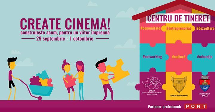Apel participare Create Cinema