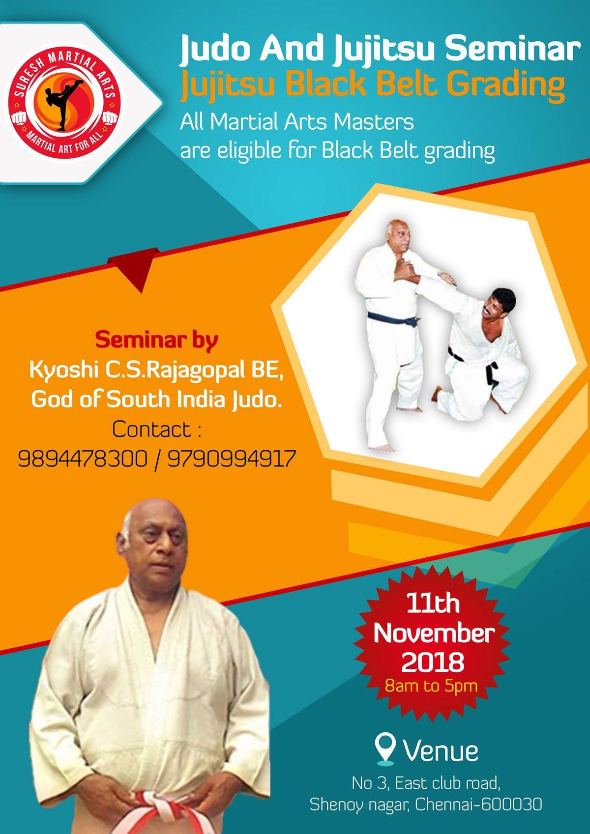 Judo and Jujitsu Seminar & Jujitsu Black Belt Grading