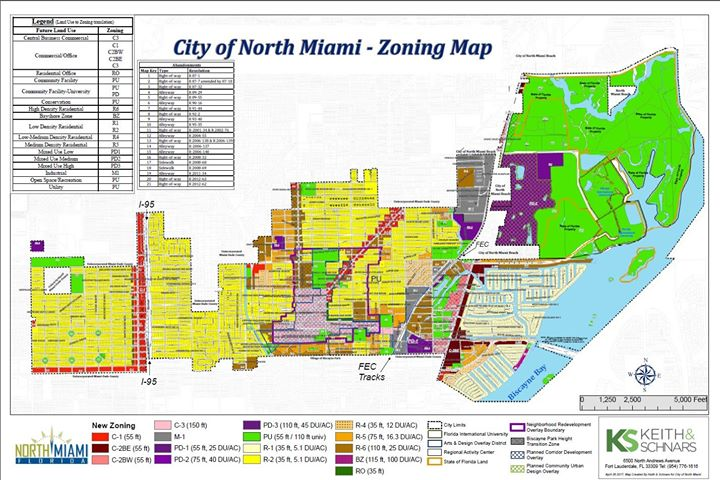 miami beach zoning map