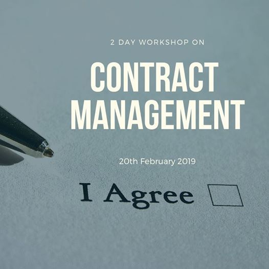 2 Day Workshop on Contract Management