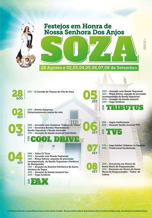 Soza Food List