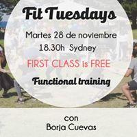 Sydney Fit Tuesdays  con Borja Cuevas
