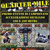 Quarter Mile - Primo evento campionato accelerazione Siciliano
