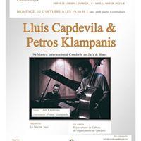 Concert &quotLlus Capdevila &amp Petros Klampanis&quot
