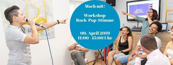Rock-Pop-Stimme Workshop