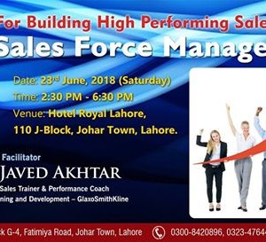 Training Session on &quotSales Force Management&quot