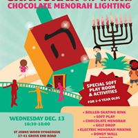 St. Johns Wood Synagogue &amp Saatchi Youth Chanukah Party