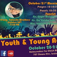 Youth &amp Young Adults on Fire Conference