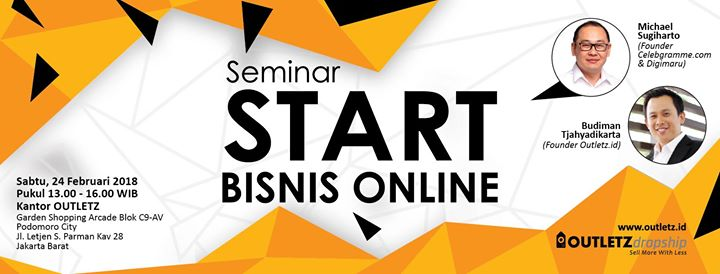Seminar Start Bisnis Online Jakarta