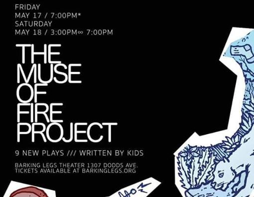 The Muse of Fire Project Spring 2019 Performances at Barking Legs