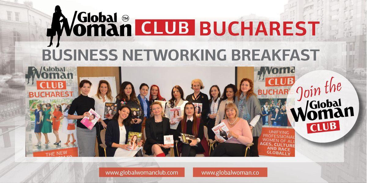 GLOBAL WOMAN CLUB BUCHAREST BUSINESS NETWORKING BREAKFAST - MARCH