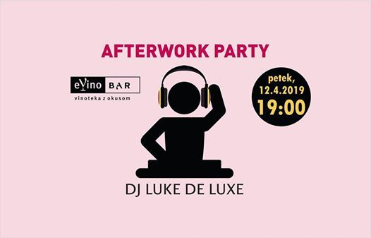 Afterwork party eVino bar