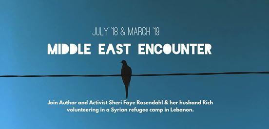 Volunteer in a Syrian Refugee Camp