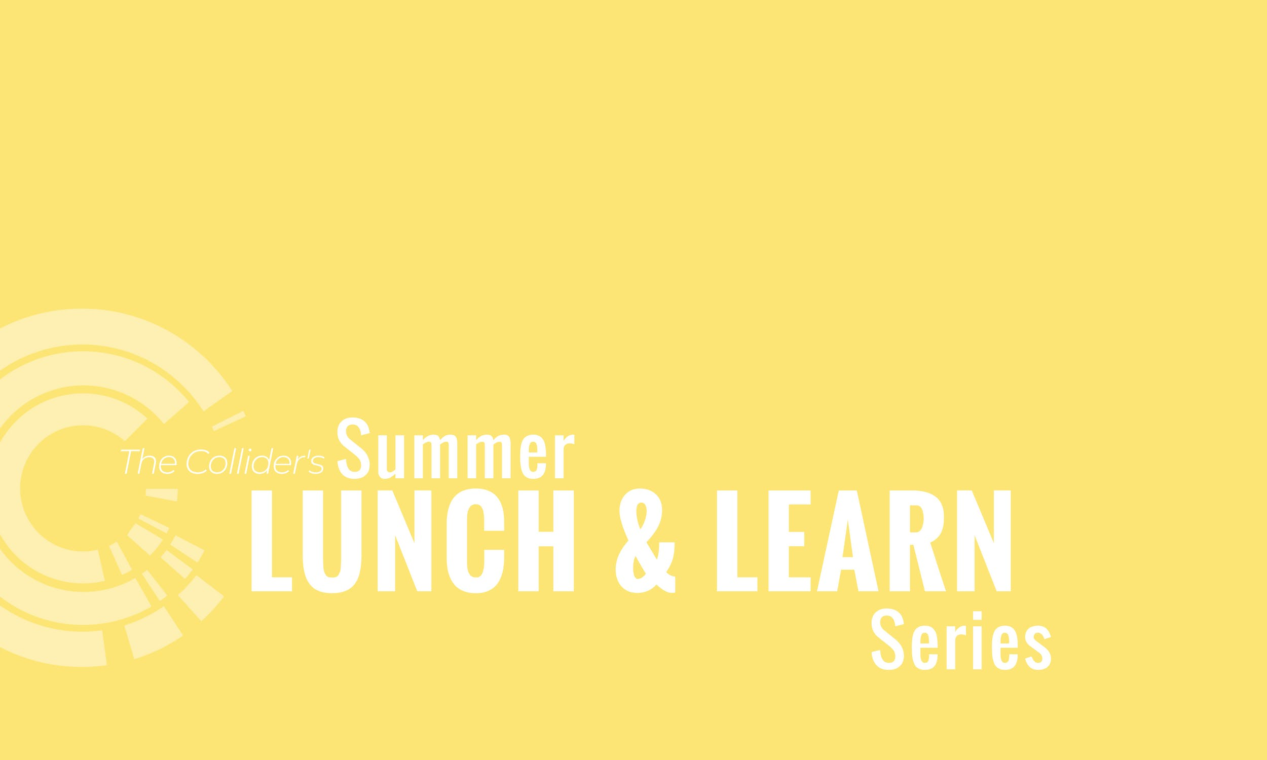 Lunch & Learn Using NOAA Climate Data for Business Decisions