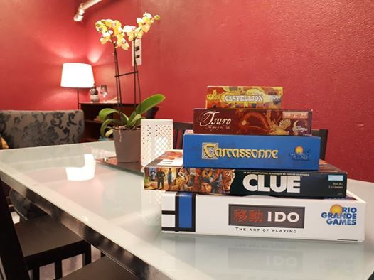 Causerie Games Afternoon (March Break edition)
