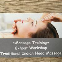 Traditional Indian Head Massage Workshop