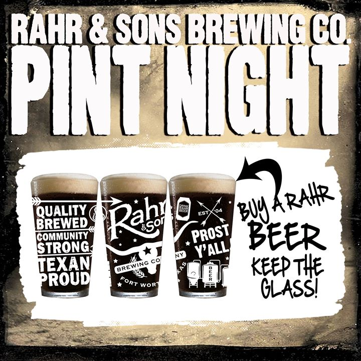 Rahr & Sons Pint Night