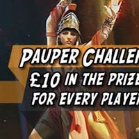 Pauper Challenge - 10 in the prize pool for every player