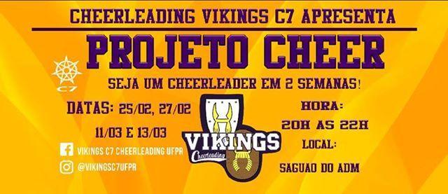Vikings C7 Projeto Cheer