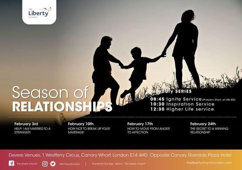 Season of RELATIONSHIPS - February 2019 Series