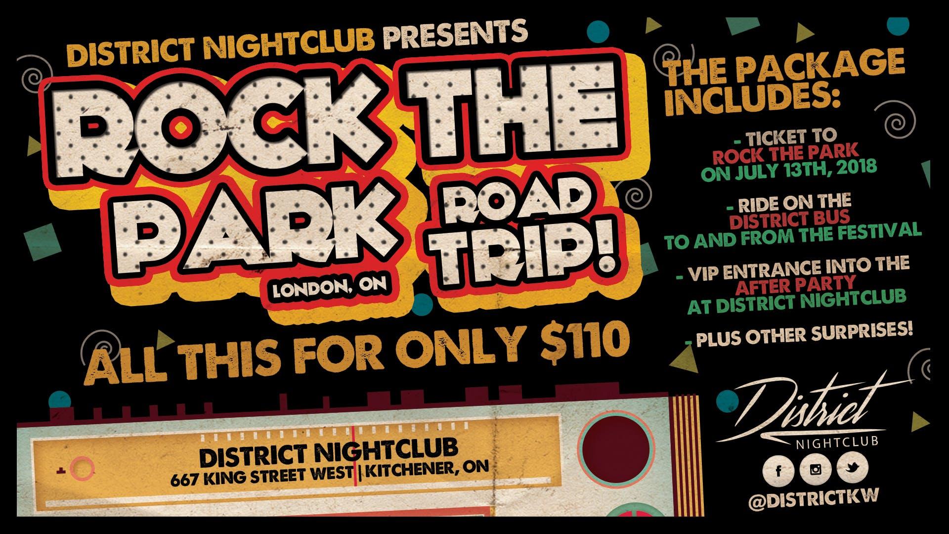 District Nightclub Rock The Park Road Trip