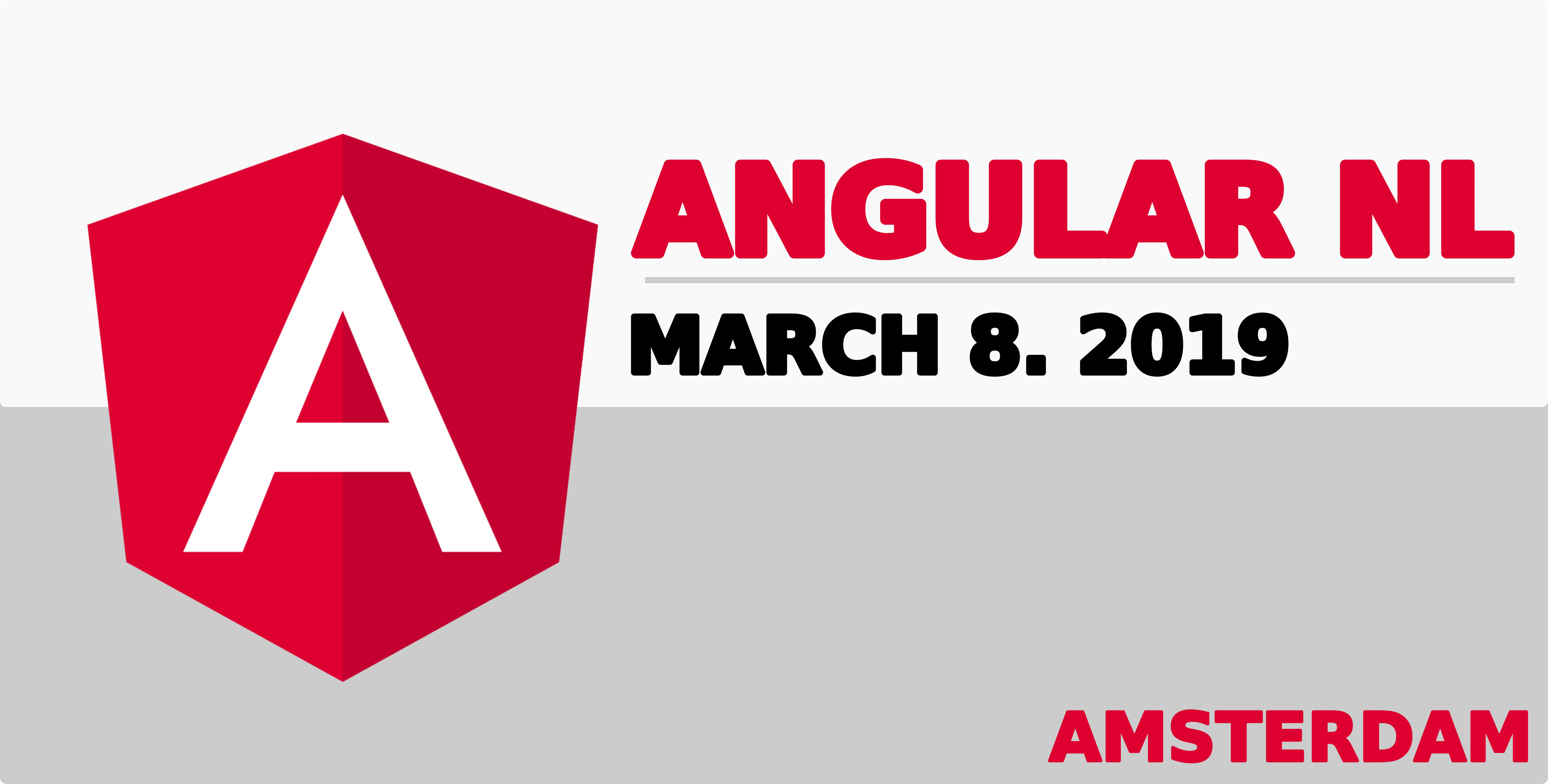Angular NL 2019