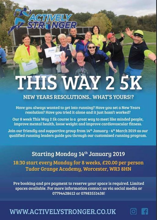 ACTIVELY STRONGER - This Way 2 5K at Tudor Grange Academy