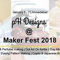 pH Designs Workshop at Maker Fest 2018