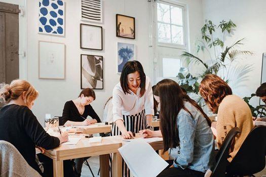 Weekend Full Day - Beginners Modern Calligraphy w artsynibs