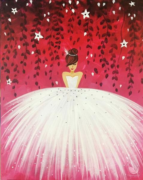 mommy me princess tea party painting all ages at painting with a