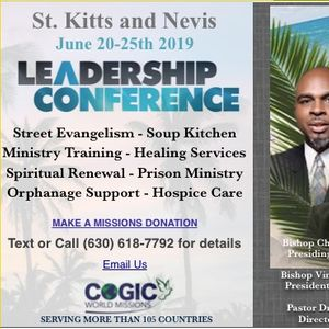 St  Kitts COGIC - Leadership Conference at Basseterre Church