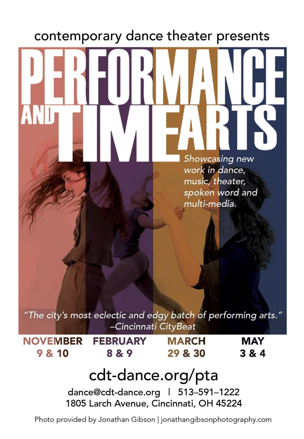 Performance & Time Arts - March 29 & 30 Shows