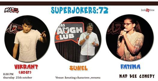 MBC Superjokers 72 Open Mic Night