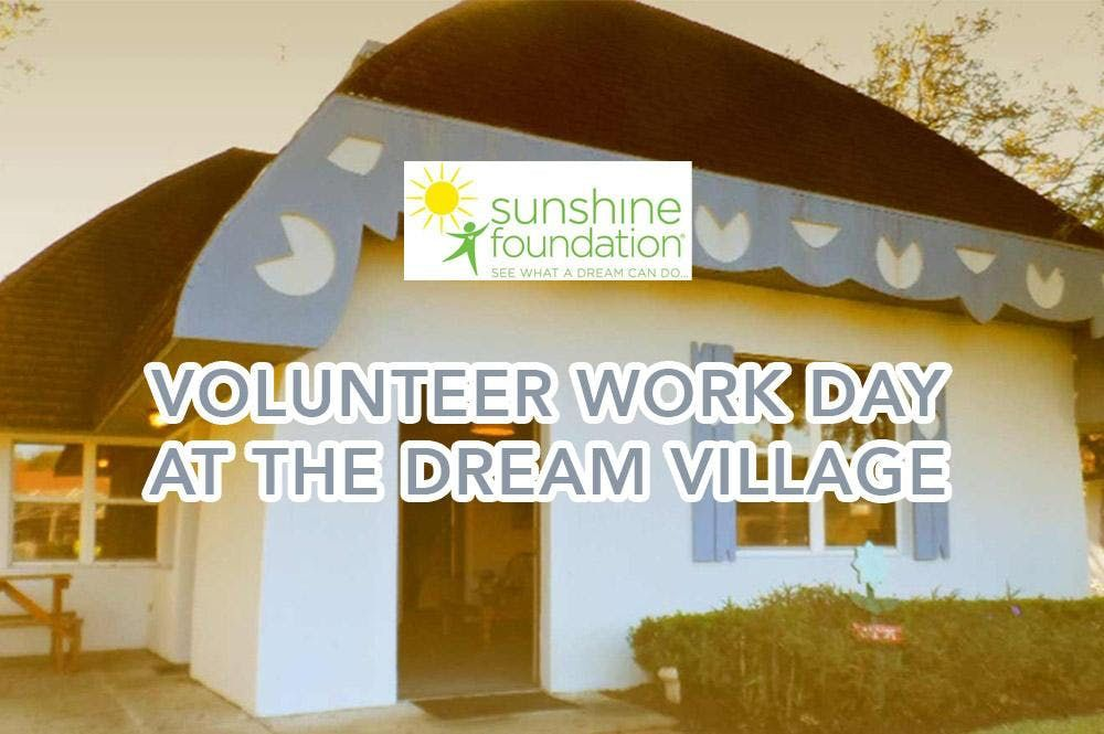 Sunshine Foundation Dream Village Work Day - November 2019