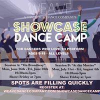 WEAVEs Showcase Dance Camp Session A &quotOn Broadway&quot