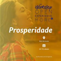 BH Workshop Open Experience More (Prosperidade)