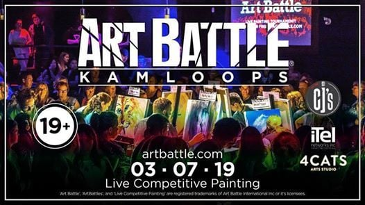 Art Battle Kamloops - March 7 2019