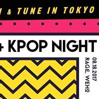 Gameboi and Tune In Tokyo Present K-Pop Night