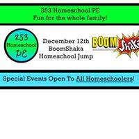 Homeschool Jump Party at Boomshaka