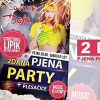 2 Dana  Pjena Party  Sexy Plesaice - Baja Pakrac