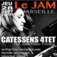 Catessens Quartet feat. Jean-Philippe Trotobas