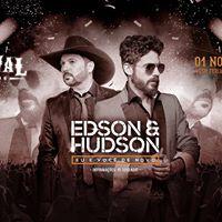 Edson e Hudson no Festival Sertanejo