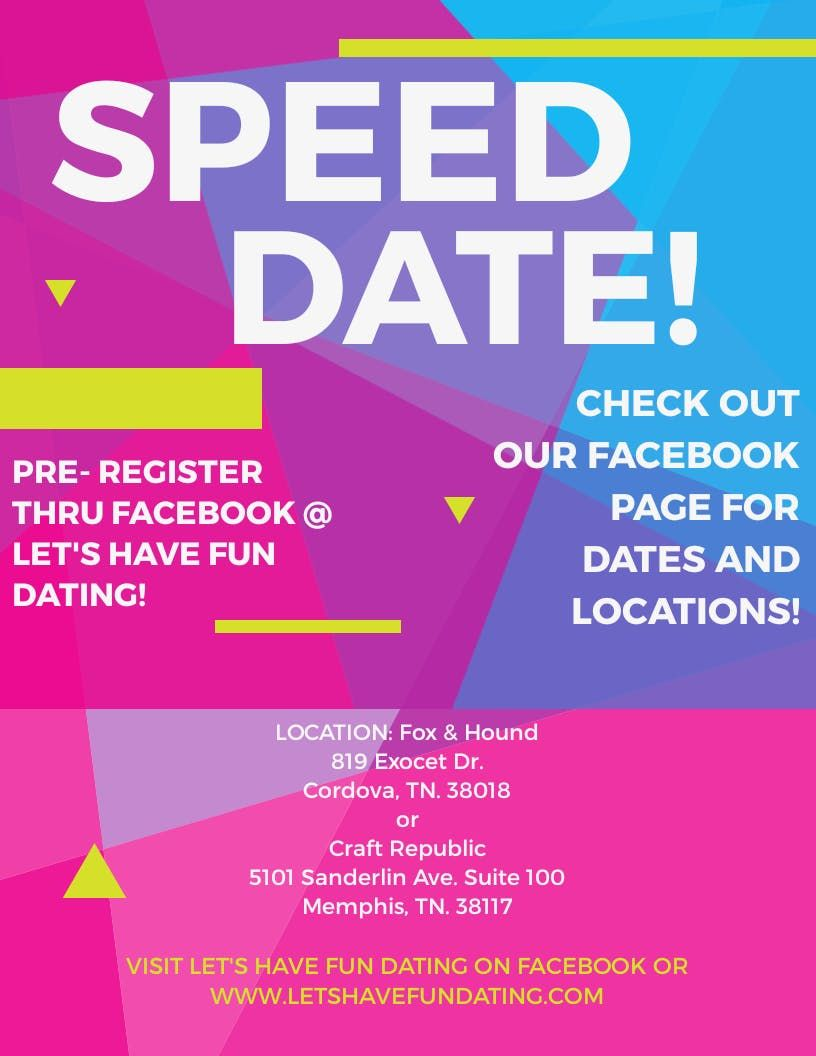 Speed dating memphis