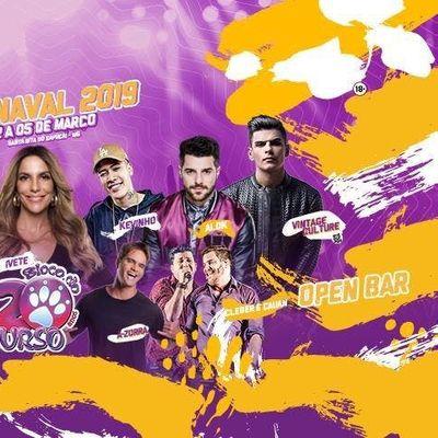 Carnaval Bloco do Urso 2019 - Excurso em Belo Horizonte e Regio