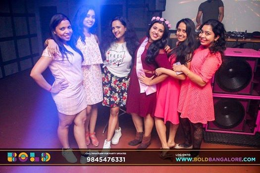 Ladies NIGHT with DJ harsha
