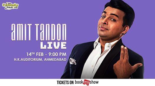 Amit Tandon LIVE - Ahmedabad