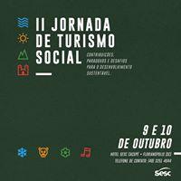 II Jornada de Turismo Social Sesc - inscries gratuitas