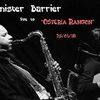 Sinister Barrier - live