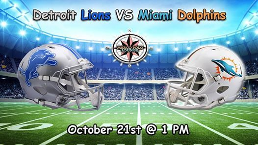 6cfd891b Football Showing: Detroit Lions VS Miami Dolphins at Ramada Plaza ...