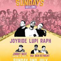 One Day Sundays - Geelong - Sun 2nd July